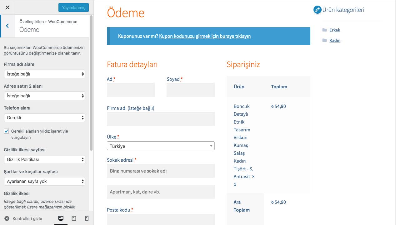 e-ticaret sitesi yapmak, wordpress