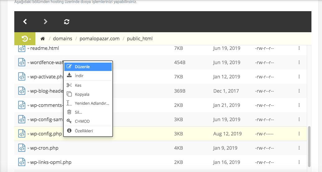 wordpress dosya yükleme sorunu, hosting